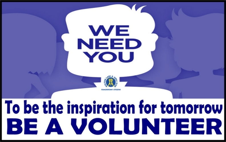 BLGC - Volunteers and Mentors needed in Westhoughton