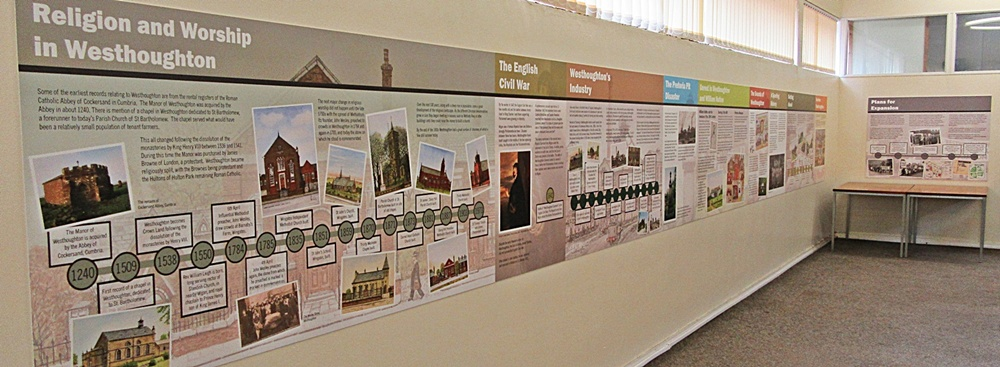 'Aspects of Howfen' - Westhoughton Historic Timeline commissioned by Westhoughton Local History Group
