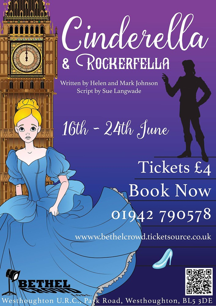 Westhoughton's Bethel Crowd Junior - Cinderella & Rockerfella (June 2017)
