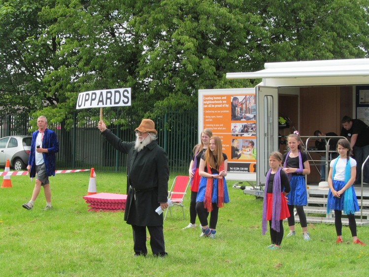 Westhoughton Methodist ADS bring a taste of theatre to the Westhoughton Big Fun Day in 2014.