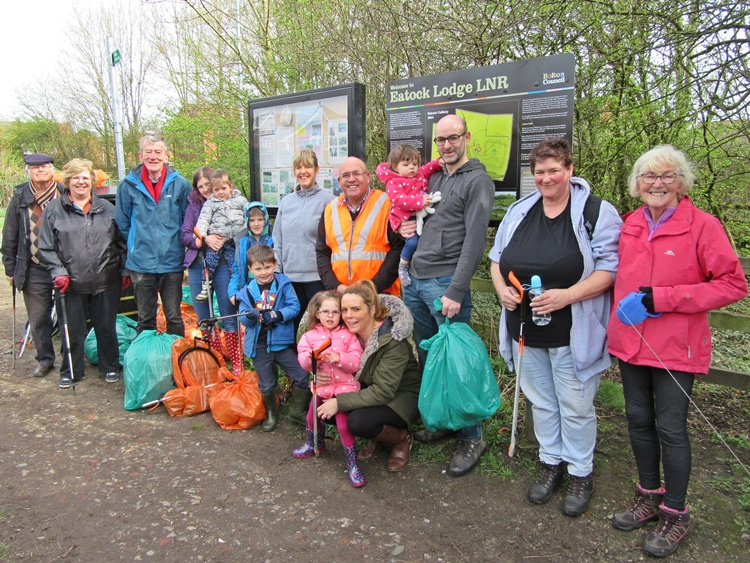 Litter Pick at Eatock Lodge - March 2019