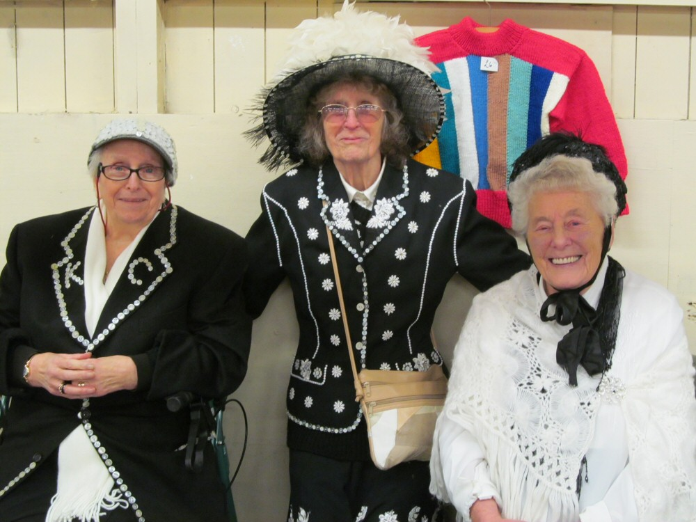 WASP as Pearly Queens at the Westhoughton Victorian Market (2013)